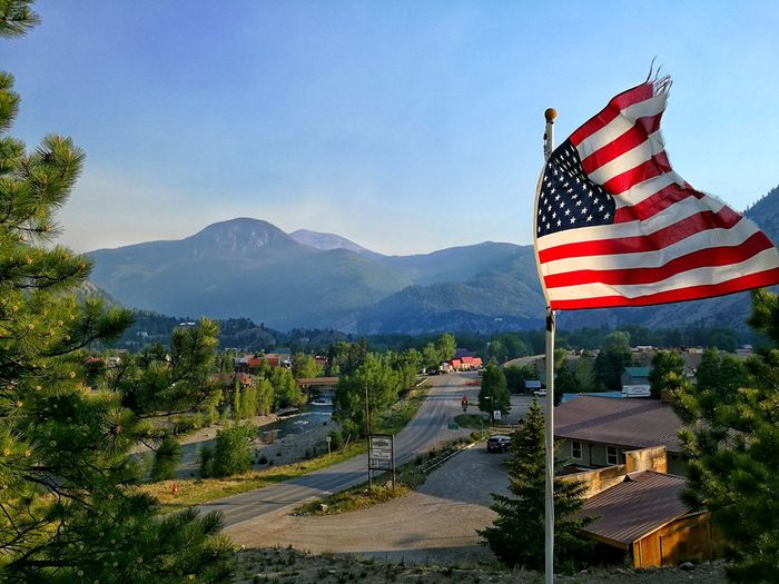 4th Of July American Flag Independence Day Proud Lake City Colorado Colorado Photography Red Blue White July 4th American HuaweiP9 Huaweiphotography Huawei P9 Leica Mountain Rocky Mountains Green Greenery Nature City Celebration History 4thofjulyweekend 4thofjuly2018