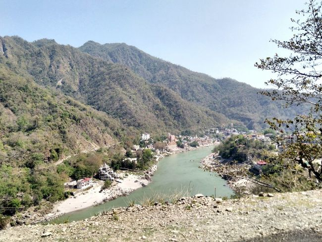 River Ganga River Rishikesh