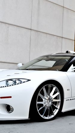 Car Sport Fast White