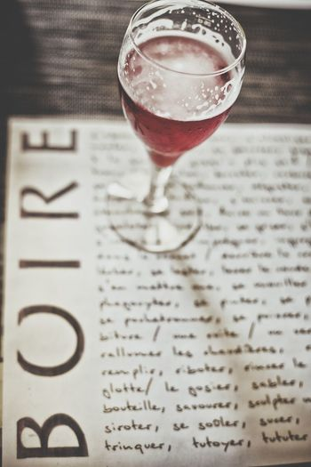 BOIRE is the French word for DRINK Drink Drinking Beverage Bar Restaurant Boire