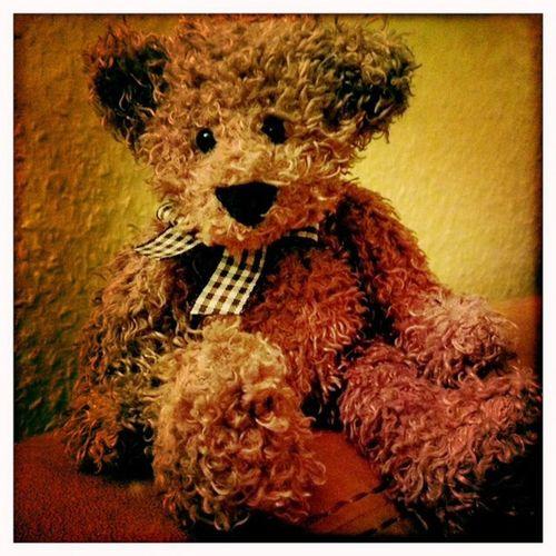 Fritzzly. Teddyb är Teddybear Toy Cute Hipstamatic JohnS Blanko