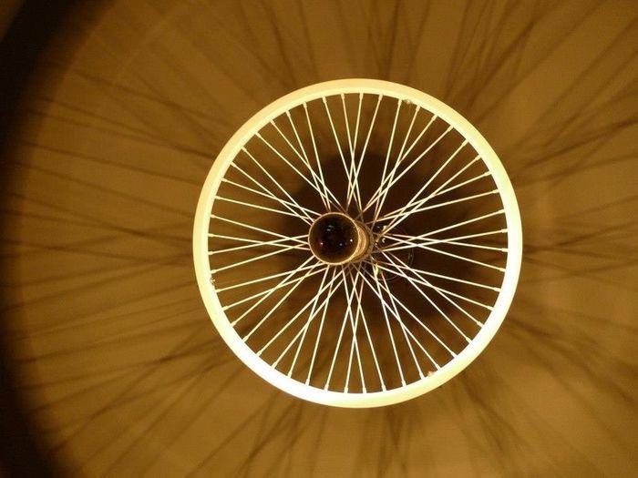 Diy Rim mirror light DIY Möbel Art ILOVE MÜLL