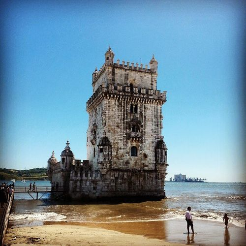 Torre de Belem! Lisboa, Portugal. Pasteldebelem