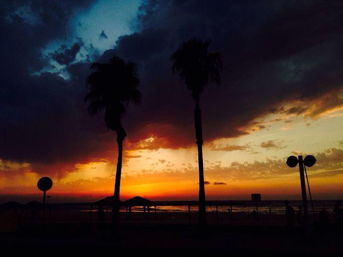 Sunset tel aviv Telaviv Sunset Sky Skyporn