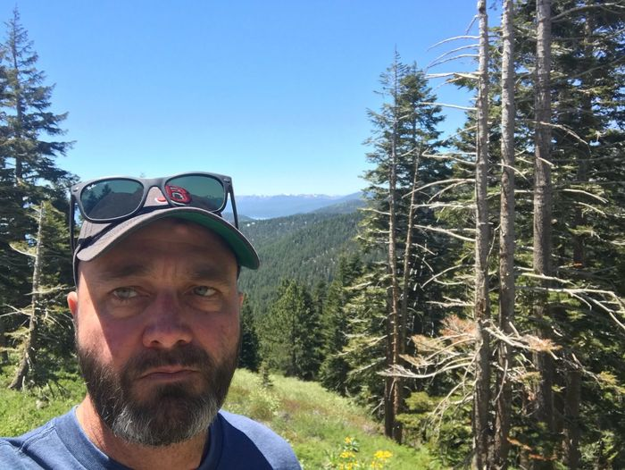 Tahoe unfiltered..... Portrait Tree One Person Headshot Plant Real People Front View Leisure Activity