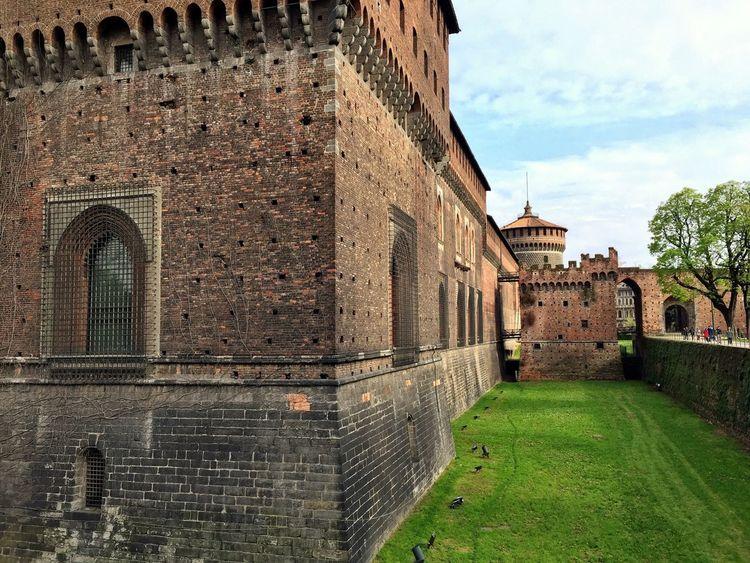 Castello Sforzesco Castello Sforzesco Milano Castle Parco Sempione