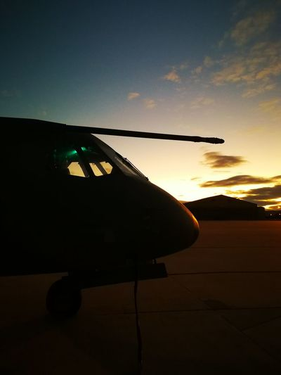 Sunset Silhouette No People Outdoors Sky Day Aviation Aviationphotography Aviation Photography C295 Plane Military Airplane Military Life Military Aircraft Military Plane Military Base Sunlight Sun Airport Aerodrome Fly Working
