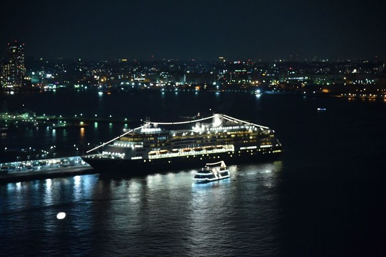 Japan Port Of Yokohama Osanbashi Night Views Night View Snapshots Nightscape Yokohama Snapshot