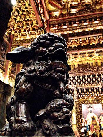 守護 Temples Sculpture Art Chinese