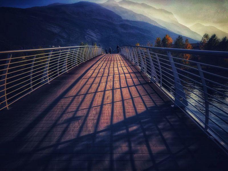 Mountain Railing Beauty In Nature Mountain Range Beauty In Nature 🍁🍂autumn November Tranquil Scene