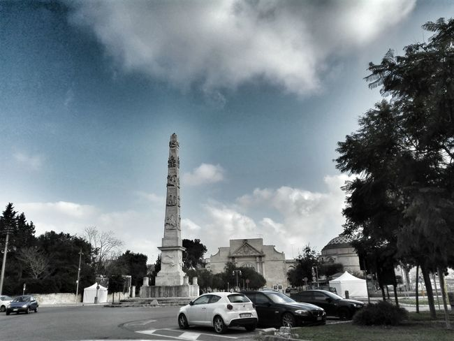 Lecce Italia Italy Sky Cielo Lecce City Puglia Salento