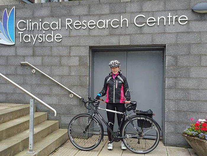 Cycletoworkday 2015. Arrived! Ninewells Dundee Cycling Scottishrowan Cyclingphotos