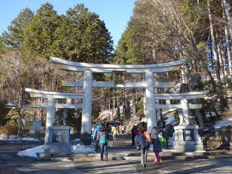 約1年ぶりの三峯神社。 三峯神社