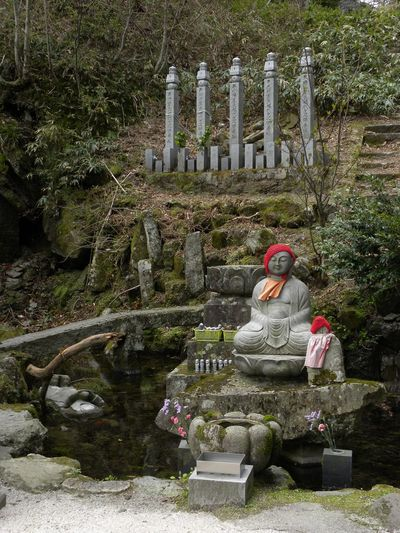 Ancient Japanese Culture Nature Red Hat Religion Sitting Spirituality