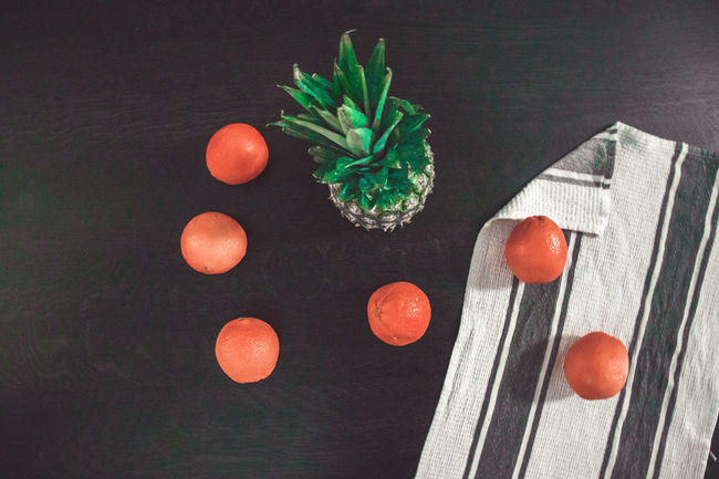 Canon200D Fun Meal Orange Setup Blackbackground Canon Canonphotography Celebration Close-up Day Food Healthy Healthy Eating Healthy Lifestyle Indoors  Kitchen No People Orange Color Oranges Pineaple  Table