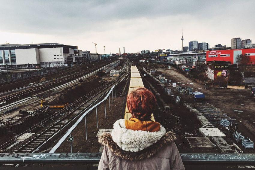 Warschauerstrasse Berlin Berlin Cityscape Trainline Berlin Life