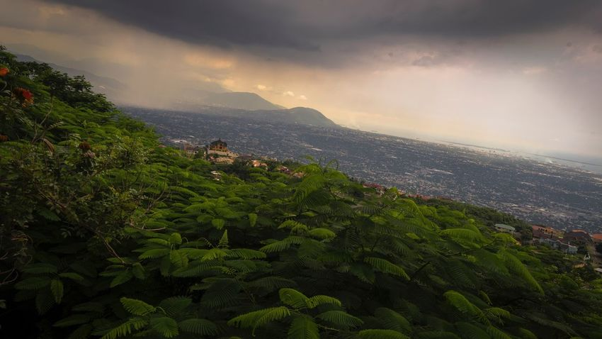 Nature Sky Beauty In Nature Landscape Mountain Scenics Green Color Cloud - Sky No People Day Outdoors Cityscape Rural Scene