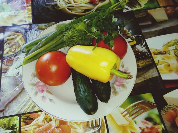 Vegetables Cooking At Home