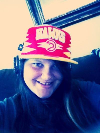 Jamming Out In The Big Bros Hat