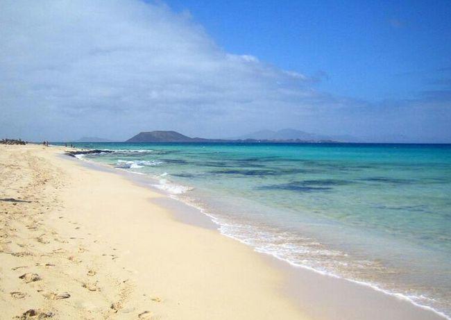 Corralejo (Fuerteventura, Spain) Fuerteventura Landscape Sea Beach