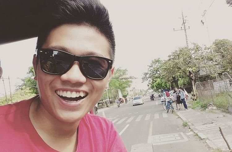 Start the whole day with a great smile! StrangerSelfieWannaBe ThisIsNotSparta Trip2015