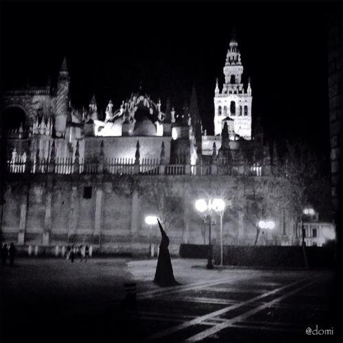 View of church at night