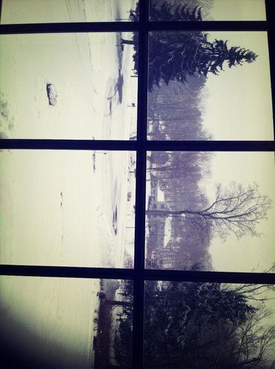 Snowfall #earlydismissal #lazyafternoon
