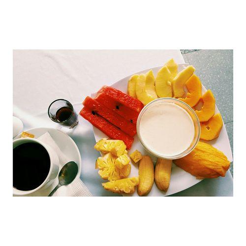 Nom Nom Nom Breakfast Greekyogurt Fruits NhaTrang Vietnam