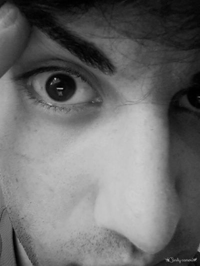 Eye Black And White Black & White Photography Deli Bakislar Göz Face Can Sikintisi