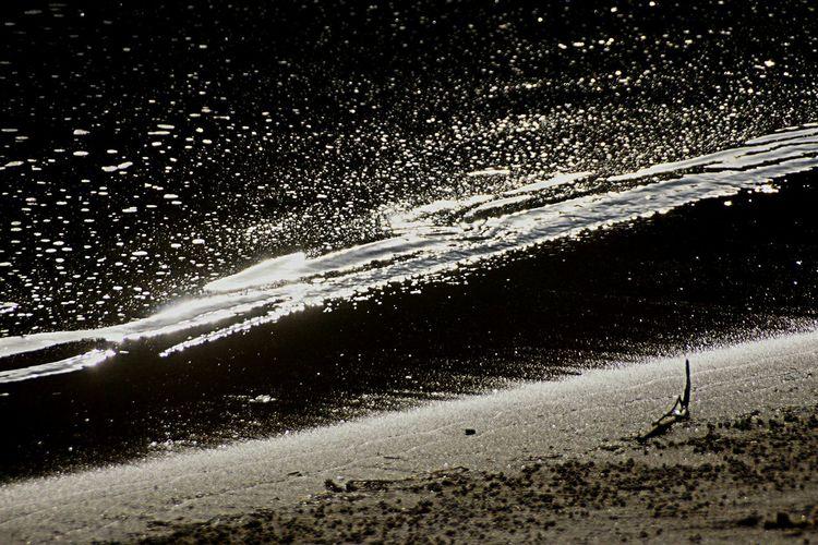 波打ち際の小宇宙✨~Microcosm of the beach~ Beach Beach Photography Beach Life Darkness And Light Light And Shadow Lovely Nature キラキラ 楽しみ隊 Kagoshima 乙女部 黄昏隊