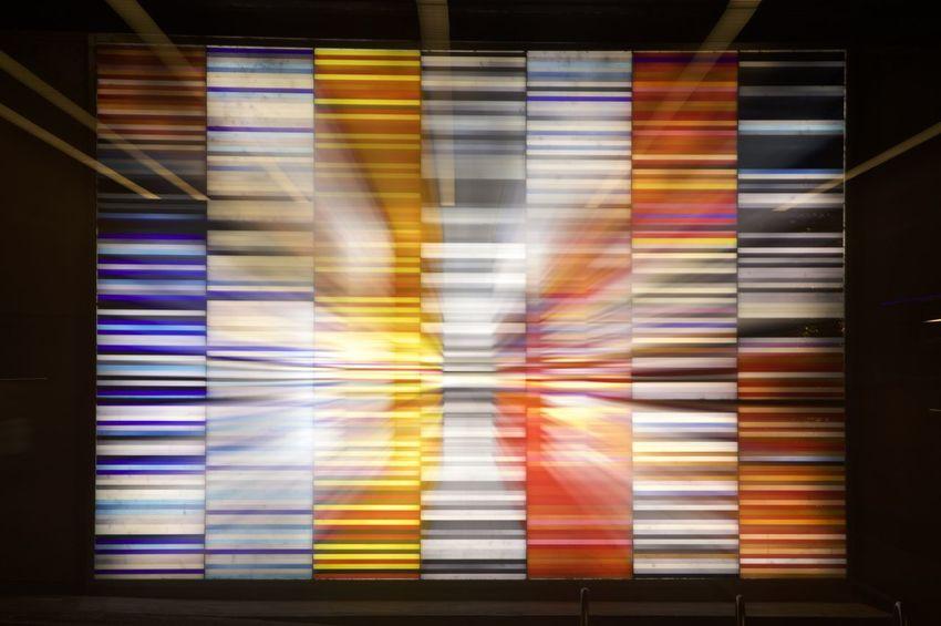 Des Moines Des Moines, Iowa Downtown Zoom Burst Color Swatch Long Exposure Multi Colored No People