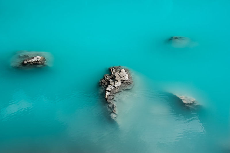 Dolomites, Italy Lago Di Sorapiss Sorapiss Beauty In Nature Blue Day High Angle View Idyllic Lake Marine Nature No People Outdoors Rock Rock - Object Scenics - Nature Solid Swimming Pool Tranquil Scene Tranquility Turquoise Colored Underwater Water Waterfront