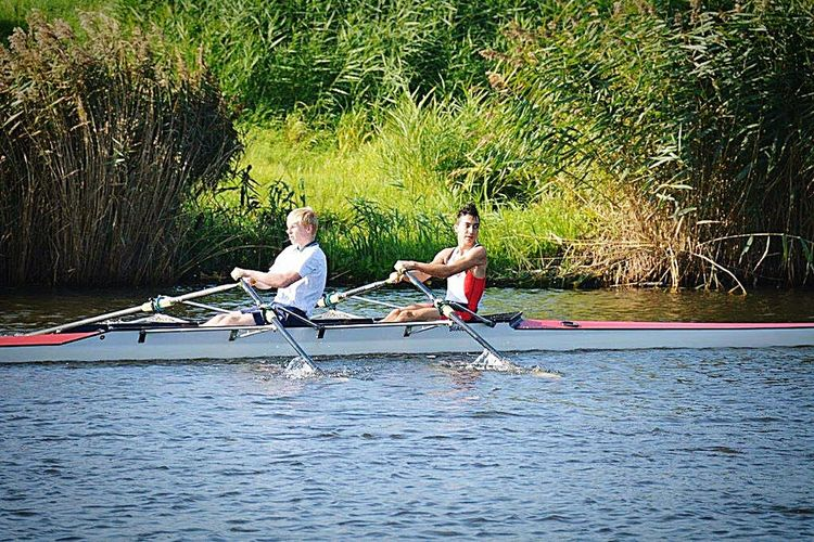 2nd place no medal. Rowing Rowingboat Race Sport