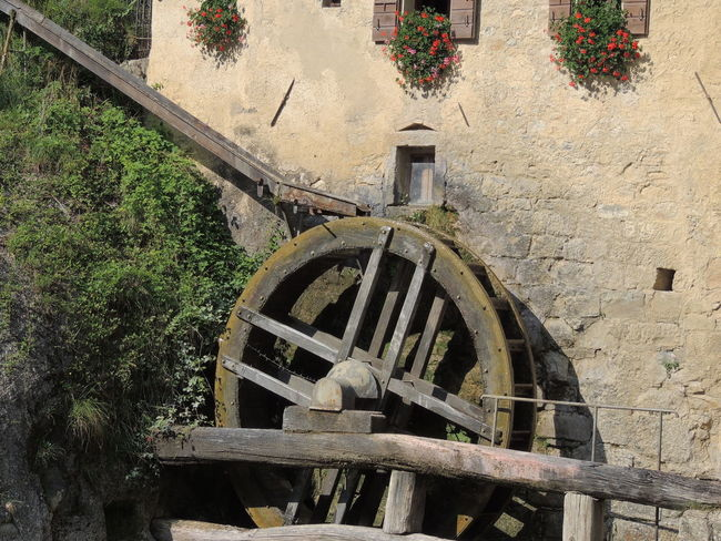 Molinetto Della Croda Architecture Day No People Old-fashioned Outdoors Tree Wagon Wheel Water Wheel Watermill