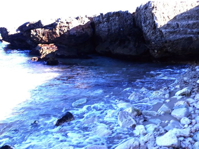 Rock - Object Sea Rock Formation Nature Beauty In Nature Beach Water