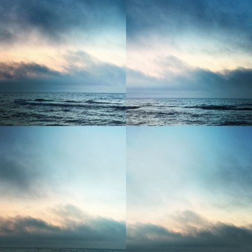 Beautiful Lake Michigan in the summertime | shot and edited with the new Mosaicam iPhone app Mosaicam