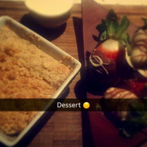 My delicious dessert I made lastnight! ?