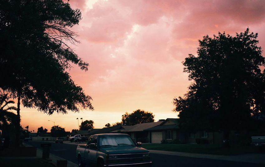 Sunset Outdoors Atmospheric Mood Scenics Sky