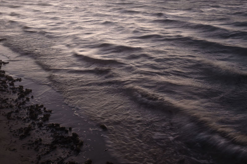 Backgrounds Beach Beauty In Nature Monochrome Moody Nature Outdoors Ripples Sand Sea Water Wave Colour Your Horizn