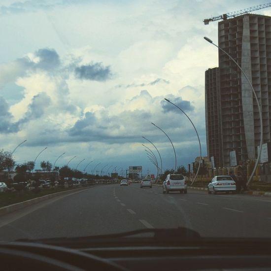 Erbil Hawler Irbil Sky Cloud Empire Street Road Drive Ride Instakurd Kurdishinsta