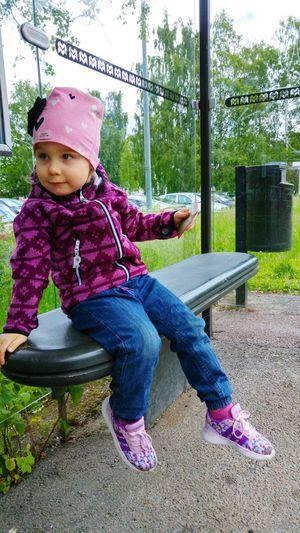 Happy Day Happy Ninni ❤️ Childhood Full Length Child One Person Innocence Children Only Portrait Happiness JaniVauhkonen LG G4 Best Shots EyeEm BestofEyeEm