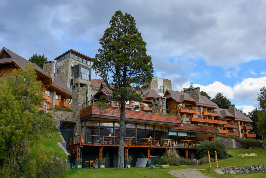 Hotel #LlaoLlao #Argentina #Bariloche Architecture Building Exterior Built Structure Tree Cloud - Sky Building Plant Sky Nature Day Residential District House Outdoors City Incidental People Growth Low Angle View Grass Llao Llao Bariloche Bariloche, Argentina Patagonia Argentina