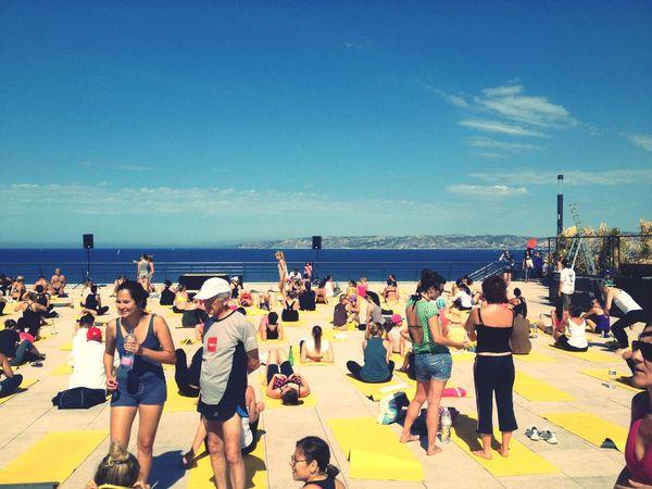 Yoga Bikramyoga petite séance de bikram aux terrasses du port
