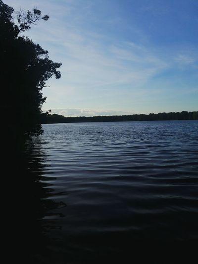 Lake Barnegate Lake Barnegate Lacey Newjersey Jersey Lakes  Lakeside Walk Beautiful Bud Park Park Kanoe Amazing Blue Water