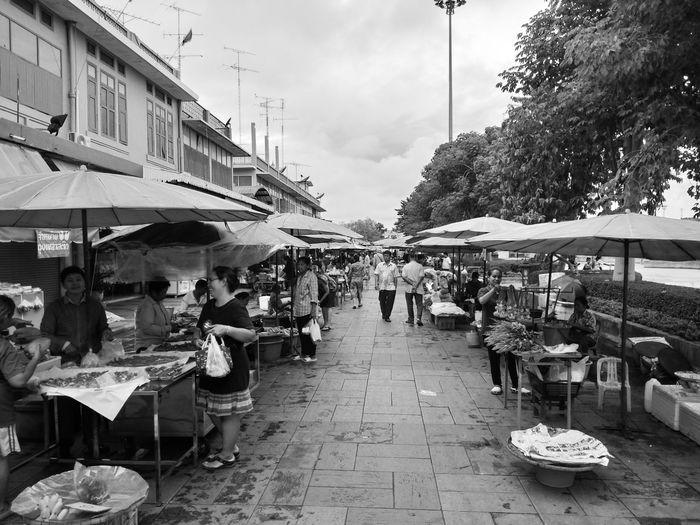local street market in thailand black and white Blackandwhite Black And White Local Black And White Local Market Local Town Street Food Streetphotography Market Stall Market Street Market Farmer Market Price Tag Market Vendor Flea Market For Sale