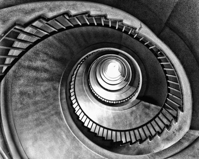 The Architect - 2015 EyeEm Awards Spiral Stairs