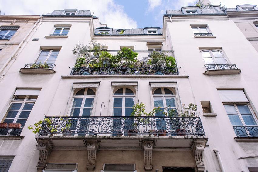 Typical balcony from Paris Architecture Balcony Building Exterior City House Lifestyles Paris Urban Window