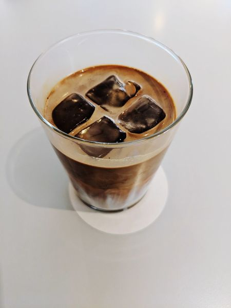 Ice Coffee Drink Drinking Glass Alcohol Cold Temperature Coffee - Drink Liqueur Cola Close-up Food And Drink