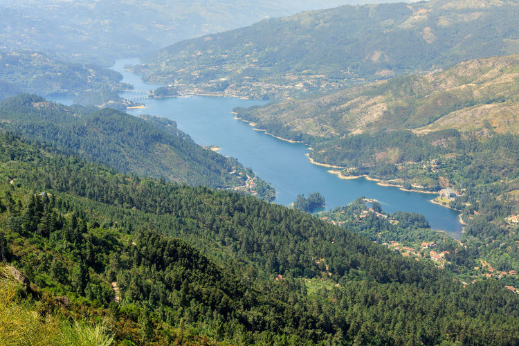 Gerês Portugal Caniçada Scenics - Nature Tree Beauty In Nature Plant Environment Water Mountain Tranquil Scene Land High Angle View Forest Nature Landscape Tranquility Green Color Non-urban Scene Growth Day No People Outdoors WoodLand