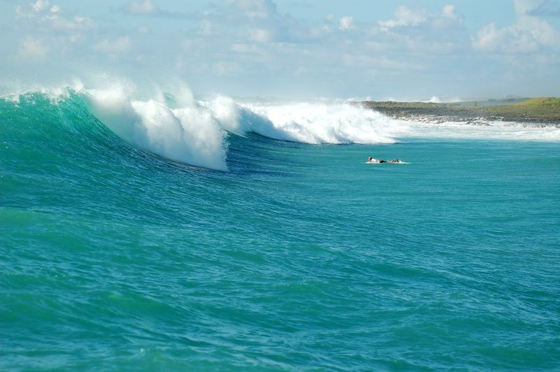 Adventure Beauty In Nature Big Waves Day Extreme Sports Motion Nature No People Outdoors Scenics Sea Sky Surf Surf Life Surfing Water Wave